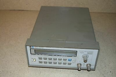 Hewlett Packard Hp 5384a Frequency Counter Gy