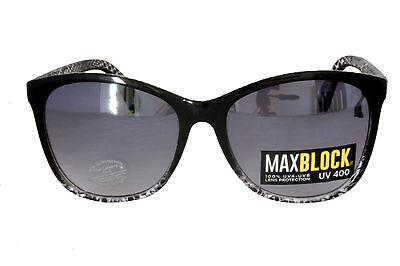 Foster Grant FG49 Damen Abgerundete Quadrat Katze Sonnenbrille Leopardenmuster 2