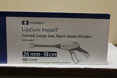 Covidien Ligasure Impact Lf4418 Curved Large Jaw Open Sealerdivider