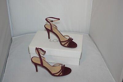 Ann Taylor Loft Ella Sandals Dark Berry Size 6.5 ~ NIB