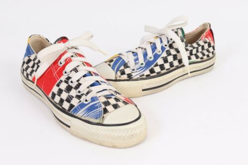 Vintage 80s CONVERSE CHUCK TAYLOR All-Star Low USA Mens Size 5.5