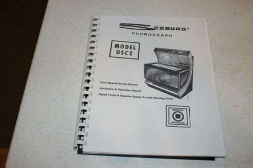 Seeburg - Model USC-2 Installation & Operation Manual  - used