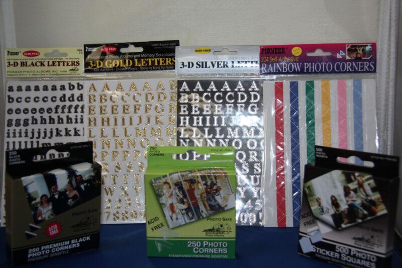 Scrapbook  7 Piece Starter Kit -A Must for Scrapbooking