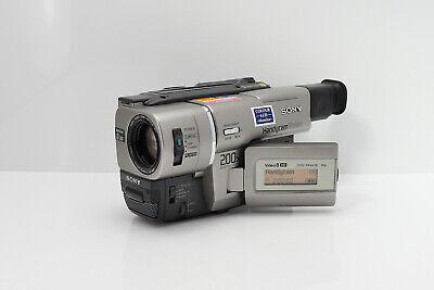 SONY HANDYCAM CCD-TRV47E CAMCORDER VIDEO8 XR VIDEO CAMERA ANALOGUE HI8 / 8MM