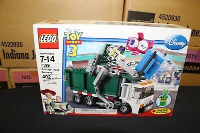 NEW Sealed Box! LEGO 7599 Toy Story 3 Garbage Truck Getaway FREE Priority Mail!