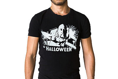 Halloween Dr Sam Loomis Film Poster T-Shirt](Halloween Movie Dr Loomis)