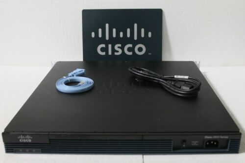 Cisco 2901-v/k9 Voice Bundle Router Cisco2901-v/k9 - 1 Year Warranty W/ Pvdm3-64