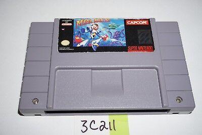 Mega Man X  Authentic  Super Nintendo Snes Video Game Cart Only Rare