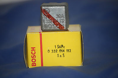 Bosch 0332014112 Fuel Injection RELAY for LAND ROVER, BMW, JAGUAR
