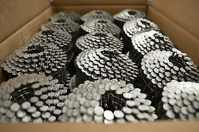 Stainless Steel Pneumatic Coil Nails 1 12 7200 Pcs