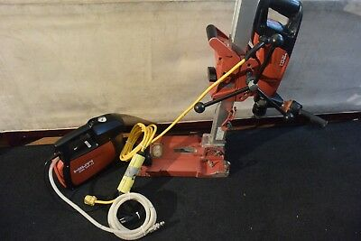 Hilti Brand Core Drill Model Dd 150-u With Stand And Dd Vp-u Vacuum Pump