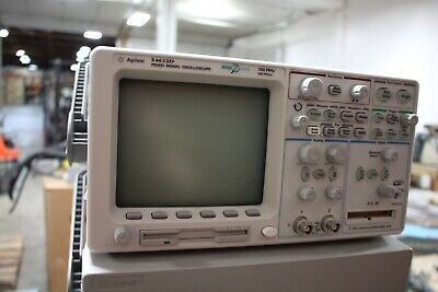 Agilent 54622d Mixed Signal Oscilloscope Working