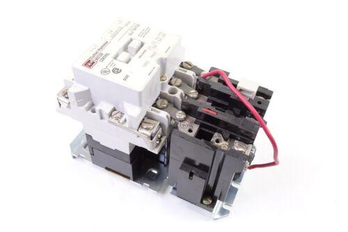 Cutler-Hammer A200M1CE Non-Reversing Electric Motor Starter Nema Size 1