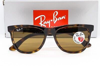 NEW RAY-BAN RB4184 POLARIZED SUNGLASSES 710/83 Havana Tortoise / Brown Classic