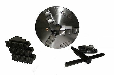 6 6 Inch 3 Jaw Self Centering Lathe Chuck Direct Mount D1-4 Primesemi-steel