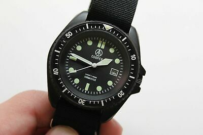 Cooper Submaster 300m/ 1000ft diver SBS Divers watch broadarrow VINTAGE NOS