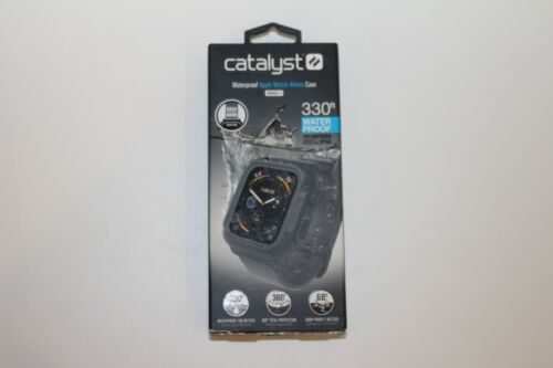 Catalyst Waterproof Case and Band for Apple Watch Series 4 44mm - Gray OPEN BOX