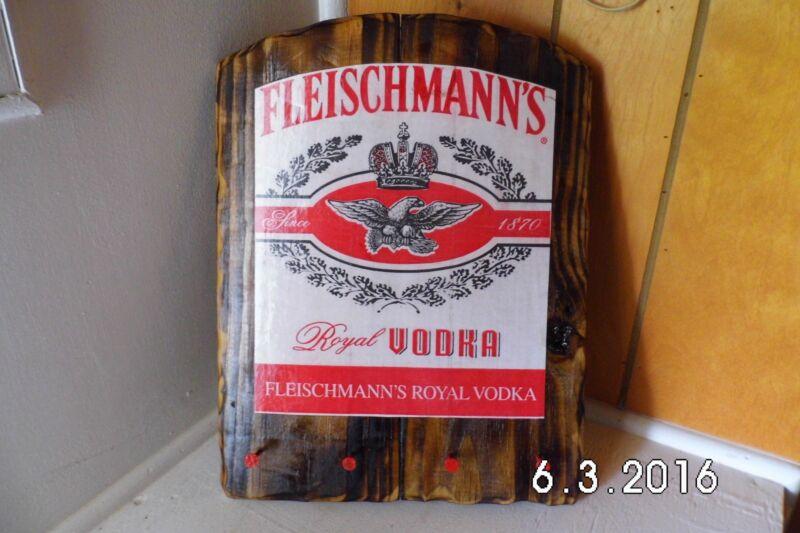 Handmade Rustic Wooden Fleischmann