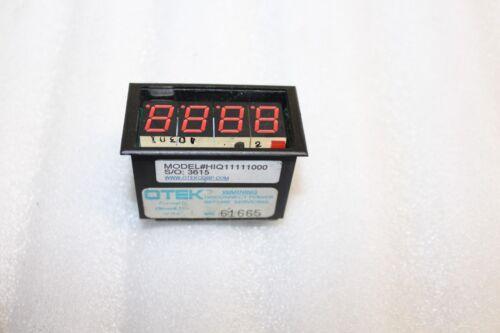 Otek HIQ11111000 counter display