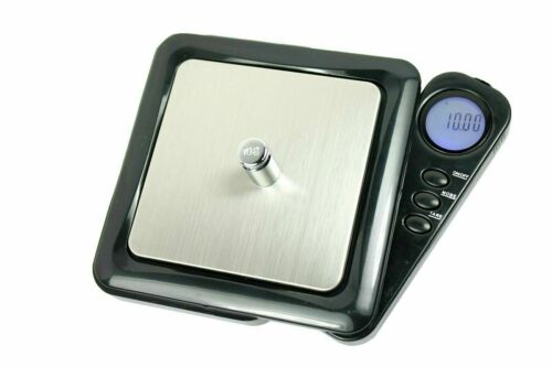"0.01g x 100g Digital Pocket Jewelry Scale with Foldable ""Blade"" LCD Display"