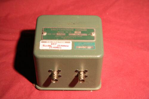DIRECT CAPACITANCE STANDARD BOONTON MODEL 76-1A / 30   30 PF