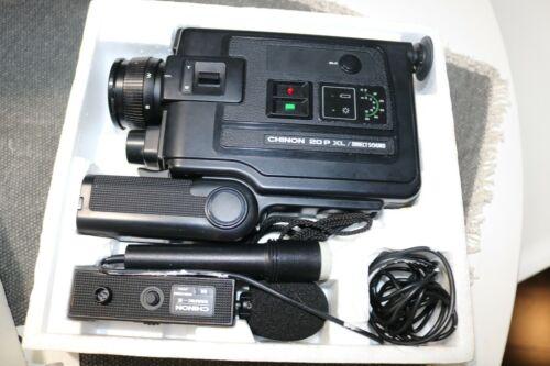 Vintage Chinon 20PXL Direct Sound Super 9 Movie Camera - 2:1 Power Zoom