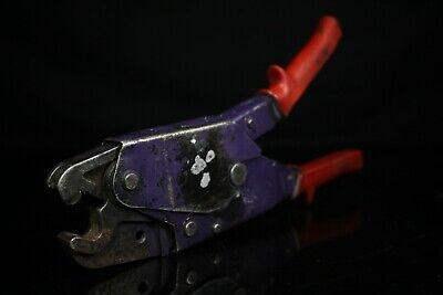 Burndy Hand Tool Hytool Ratchet Crimper Oh25