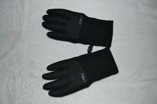 Head Sensatec youth Medium Ultrafit Touchscreen Running Gloves Black