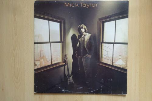 "Mick Taylor ""Rolling Stones"" Autogramm signed LP-Cover ""Mick Taylor 1979"" Vinyl"