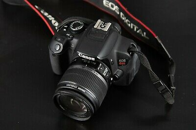 Canon EOS Rebel T4i Camera with 18-55 IS Lens