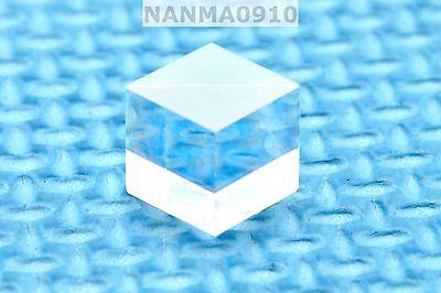 1pc Pbs Transparent 630nm-660nm Polarizing Beam Splitter Cubes 10x10mm