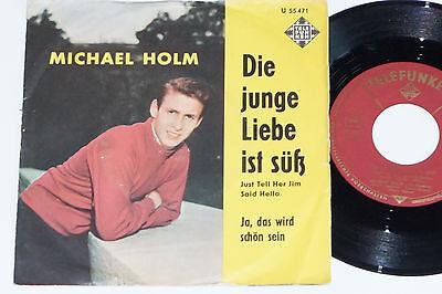 MICHAEL HOLM -Die junge Liebe ist süß (Just Tell...)- 7