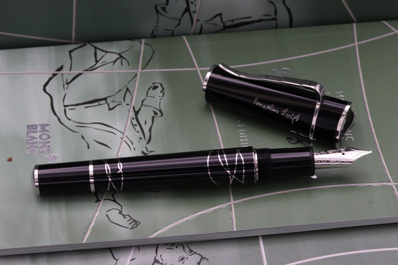 Montblanc Writers Limited Edition Jonathan Swift Fountain Pen 6