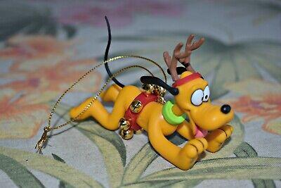 Disney Pluto Grolier Christmas Magic Ornament Box 26231 111 Pluto Dog Reindeer