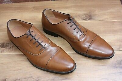 Zara Man Brown Men's Oxfords Dress Shoes Size 44