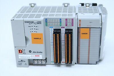 Allen Bradley Compact Logix 1769-l27erm-qbfc1b A Ethernet Ip Rockwell Automation