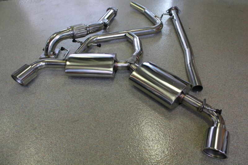 Beluga Racing Vw Golf Gti Mk6 2.0t 10-14 Down Pipe + Catback Exhaust Turboback