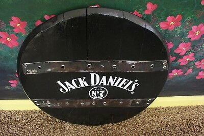 Used, GENUINE JACK DANIELS OAK BARREL HEAD BLACK OLD NO 7 FAST SHIPPING! for sale  Shipping to Canada