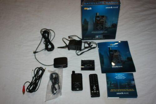 XMp3i Sirius XM Portable Satellite Radio Receiver w HOME KIT LIGHTLY USED READ