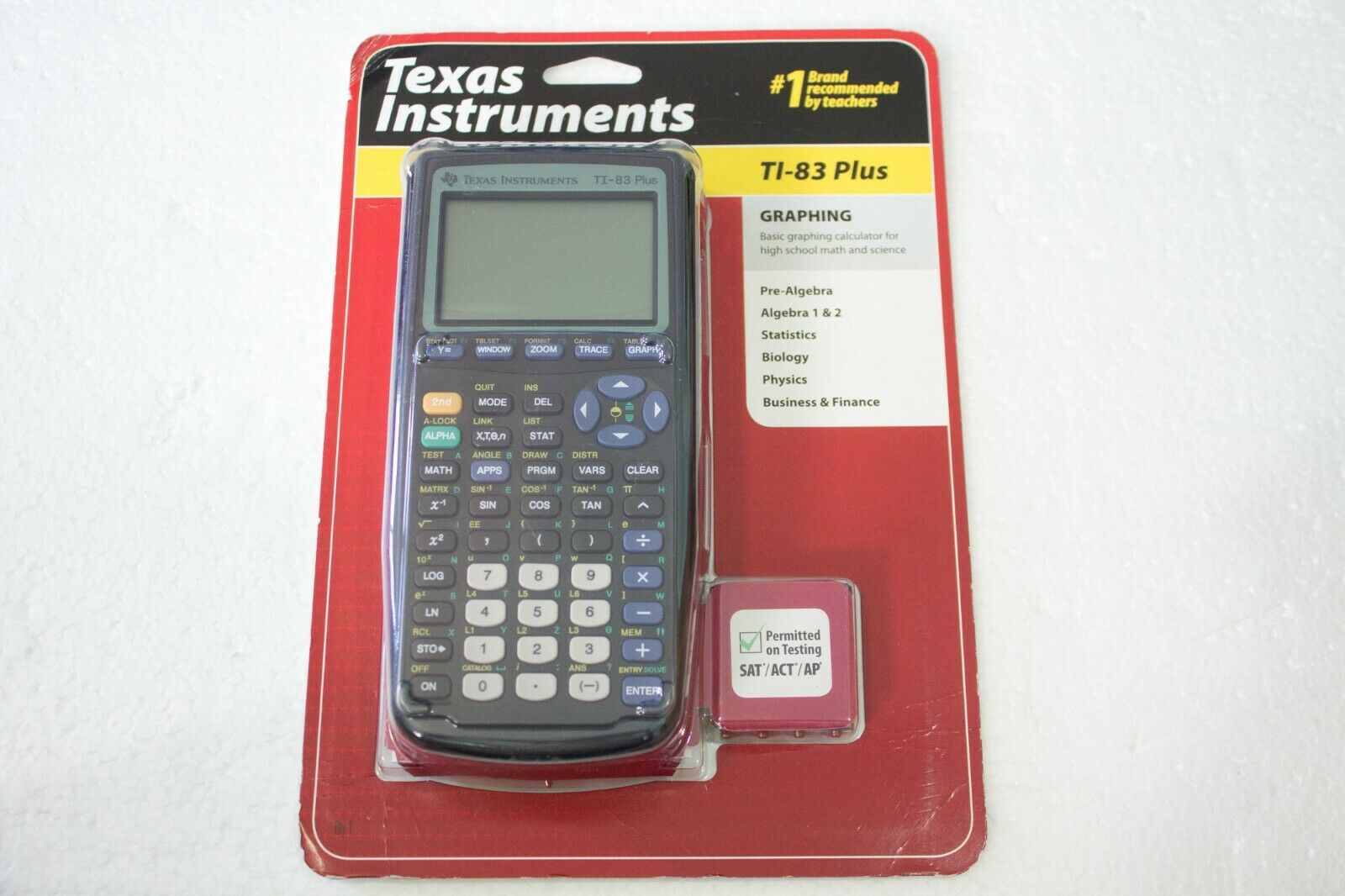 Texas Instruments® TI-83 Plus Graphing Graphic Calculator B