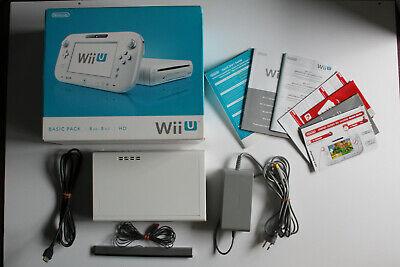 Nintendo Wii U Konsole weiß 8 GB ohne Gamepad mit OVP ()