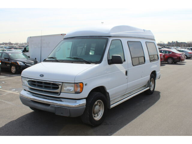 2001 ford e 250 handicap wheelchair conversion van hi top used ford e series van for sale in. Black Bedroom Furniture Sets. Home Design Ideas