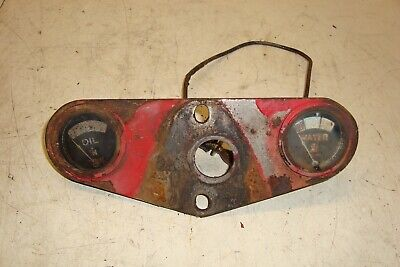 Farmall H Tractor Gauge Holder Plate