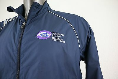 NEW adidas Clima Proof Visionary Home Builder Embroidered Men's Jacket Size M