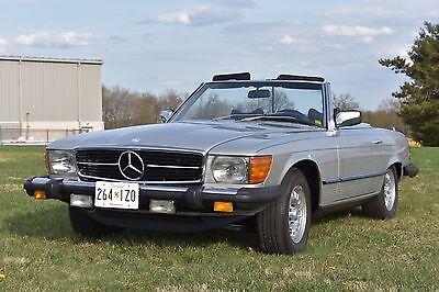1979 Mercedes-Benz SL-Class  1979 mercedes-benz 450sl