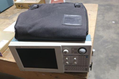 Tektronix TLA 715 Logic Analyzer Dual Monitor Portable Mainframe