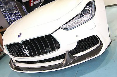 Oe Style Carbon Fiber Front Grille Mesh Fit For Maserati 14 16