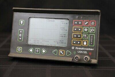 Ge Krautkramer Usn 52l Ultrasonic Flaw Detector - Ndt Inspections Ut