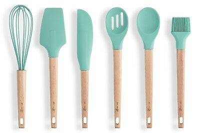 (HomeArt Baking Utensils Set - Cooking Gadgets: Spatula Scraper Spoon Whisk Brush)