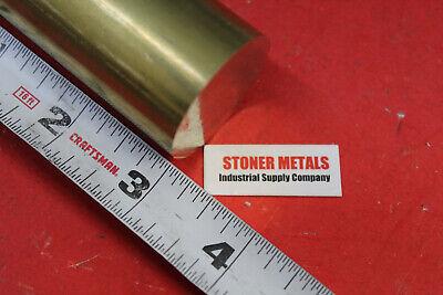1-38 Brass C360 Round Rod 3 Long Solid New Lathe Bar Stock 1.375 Od H02